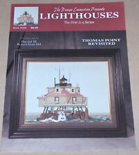 """Thomas Point Revisited"" Maryland Lighthouse Cross Stitch Pattern"