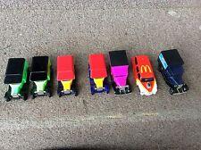Lot of 7 diecast Kellogg's delivery trucks & McDonald's Hot Rod