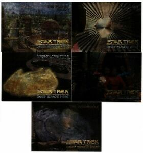 1993 Skybox Star Trek Deep Space Nine Spectra Set SPG SP1 - SP4