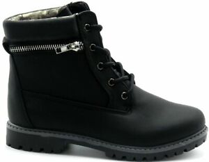 Toddler Baby Girls Combat Fashion Comfortable Boots Shoes Sz 9-13, 1-4