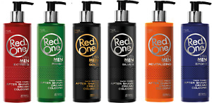 Red One Aftershave Cream & Cologne Series | Premium Cream/Lotion - 400ml -