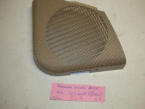 Mercedes-Benz W202 C230 C280 right front speaker cover beige 202 727 02 88
