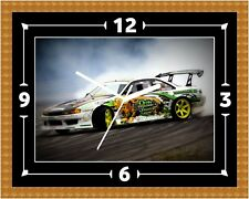 Nissan Silvia S14 Clock Gift Present Christmas Birthday (Can Be Personalised)