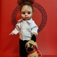 ooak art polymer clay doll. Jewish sweet boy dolls hand sculpted, 10 inch
