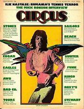 Circus August 1975 #116 Rolling Stones Eagles AWB Beach Boys