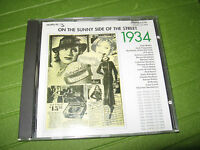 CD VARIOUS - ON THE SUNNY SIDE OF THE STREE 1934