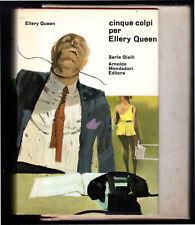 CINQUE COLPI PER ELLERY QUEEN 1a ed. OMNIBUS MONDADORI, 1967