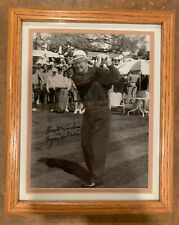 Byron Nelson Autographed 8x10 Photo - Matted and Framed