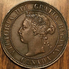 1901 CANADA LARGE CENT 1 CENT PENNY - Superb example!