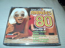"RARE! COFFRET 3 CD ""ANNEES 80 - VOLUME 2"" 60 titres"