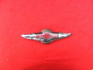 Aston Martin Lagonda DB 1950's front of car badge,  very nice condition.