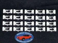 NOSR Cadillac Olds Pontiac Vinyl Top Belt Molding Moulding Trim Clips 20pcs PA