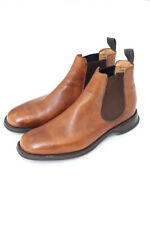 "CHURCH'S ""Devon"" Brown Tan Leather Chelsea Boots"
