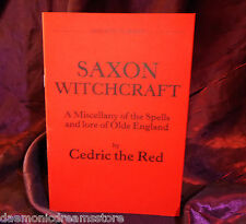 SAXON WITCHCRAFT Finbarr Occult Grimoire Magic Magick Witchcraft White Black