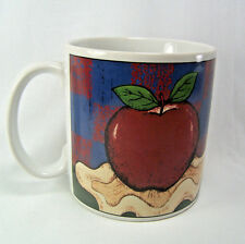 American as Apple Pie Sakura Stoneware Coffee Cup Mug By Warren