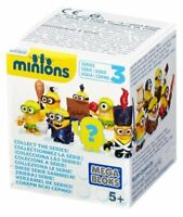 Mega Bloks Despicable Me Minions Blind Box Series 3 - Pack of 24 -Sent at Random