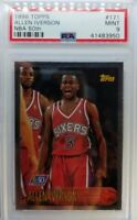 1996-97 Topps NBA at 50 Allen Iverson Rookie RC #171, PSA 9, Low Pop 48 Only 14^