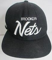 Brooklyn Nets Hat Mitchell & Ness NBA Snapback Wool Cap Unisex Cap