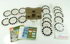 Vintage Sawyers Viewmaster 3D Reel Viewer with 17 Film Picture Disks Peter Pan