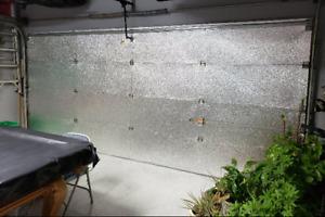 "Garage Door Insulation  24"" x 16ft Reflective Foam Core (1 Panel) R8 2 Car Size"