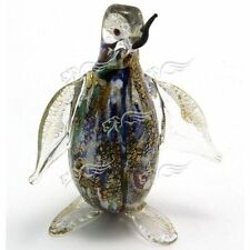 Penguin Sculpture Collection Murano Glass Made in Italy