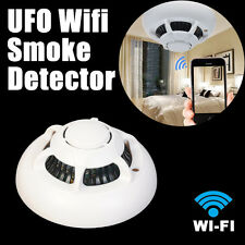 UFO Style Spy Camera  Wifi IP Cam Smoke Detector Hidden Mini Wireless Camcorder