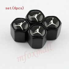 Auto Parts Wheels Rim Tire Tyre Valve Stem Dust Air Caps Cover Trim Jordan Logo