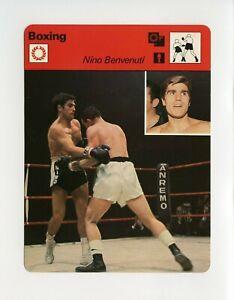 #TN09916 NINO BENVENUTI 1970'S Sportscaster Boxing Card