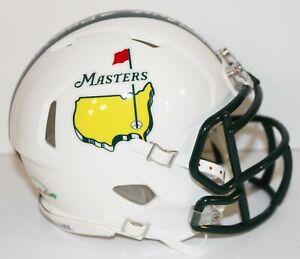 Augusta National Masters Tournament Custom Riddell Mini Helmet