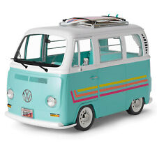 NEW American Girl Joss 3ft VOLKSWAGEN SURF Van Bus Vehicle + Accessories Sounds