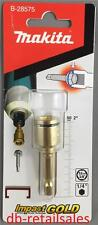 "Makita Impact Gold Nutsetter - 50mm - 3/8 (9.6mm) hex head driver * 1/4"" drive"
