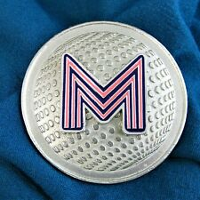 Madonna Confessions Tour Discoball Belt Buckle 'M' Pink Pin Promo 2006 New