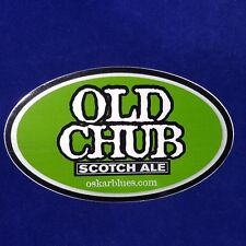 Old Chub Scotch Ale Vinyl Sticker Decal - Oskar Blues Brewing - Craft Beer