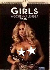 """Wochenkalender Erotik Kalender 2020  """" Girls"""" 25 x 19 cm- Erotikkalender"""