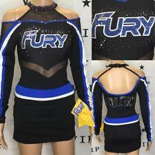 Cheerleading Uniform Allstars Fury Athletics Youth XL