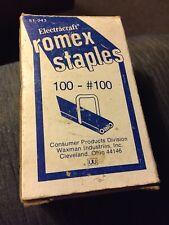 Romex Staples - Original Box - Old