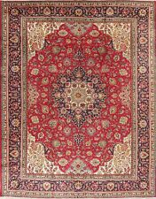New listing 10x13 Red Traditional Oriental Floral Area Rug Handmade Medallion Wool Carpet