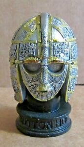ORNAMENT RESIN SUTTON HOO HELMET MEDIEVAL ANGLO SAXON ARTEFACTS FIND BURIAL SHIP