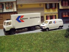 Konvolut Autohansa Autovermietung MB LK 814 LKW + VW T4 1:87 H0 WIKING K440