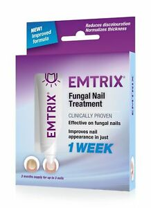 Emtrix Fungal Nail Treatment   Rapid Results   1 Week Noticeable Effect   New