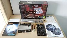 SOUND BLASTER X-FI FATAL1TY FPS SOUND CARD & I/O DRIVE PC EXCELLENT COND. BOXED