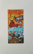 Freizeitpark - Festyland  - Prospektmaterial - 2000