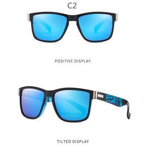 Neu Polarisierte Farbfilm Herren Fahren Radfahren Sonnenbrillen Outdoor