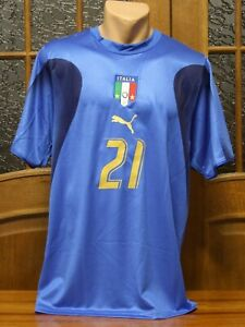 2006 World Cup Team Italia Italy Jersey by Puma