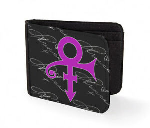 prince wallet credit card classic art print the symbol live autograph live 2