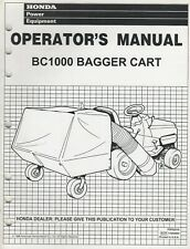 1996 Honda Bc1000 Bagger Cart Operators Manual (137)