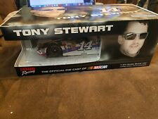 TONY STEWART 2015 SS MOBIL 1 1:24 ACTION DIECAST -AUTOGRAPHED - RARE