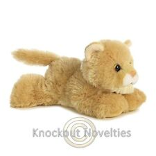 Cougar Aurora Plush Stuffed Animal Toy Cute Cuddly Wild Cat Kitten 8 Inches