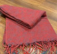Women's Yak Wool Shawl - Nepalese Handmade Warm Body Wrap Soft Throw Scarf Snug