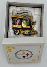 Danbury Mint 2005 Pittsburgh Steelers Nfl Express Train Ornament In Box ~ Mint